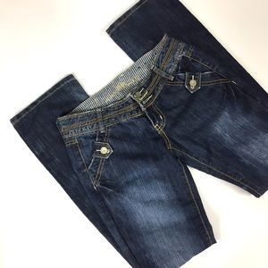 Almost Famous Blue Jeans Size 1